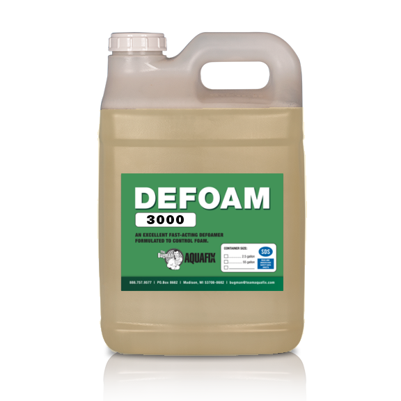 DeFoam3000 is an ultra-concentrated product to control foam in wastewater plants.