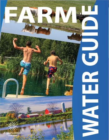 Cover of the Farm Water Guide for managing agriculture ponds, dugouts and reservoirs