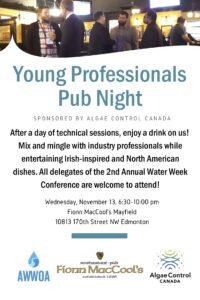 AWWOA Young Professional's Pub Night Nov 2019