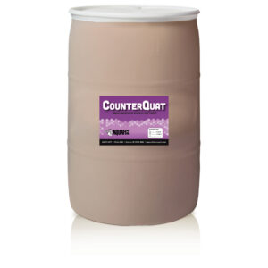 To address toxicity-related system upsets use CounterQuat, which is delivered to operators in barrels.